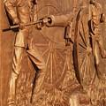 Gettysburg Bronze Relief by Eric  Schiabor