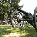 Gettysburg Cannons by Liza Eckardt