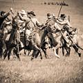 Gettysburg Cavalry Battle 7948s  by Cynthia Staley