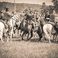 Gettysburg Cavalry Battle 7970s  by Cynthia Staley