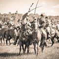 Gettysburg Cavalry Battle 7992s  by Cynthia Staley