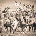 Gettysburg Cavalry Battle 8021s  by Cynthia Staley