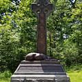 Gettysburg Irish Brigade Monument by Judith Rhue