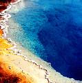 Geyser Basin by Nancy Mueller