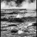 Geysers Of Yellowstone by Hugh Smith