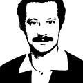 Ghassan Kanafani by Munir Alawi