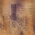 Ghost Chamber With The Tall Door New Version by Paul Klee