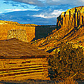 Ghost Ranch At Sunset, Abiquiu, New by Panoramic Images