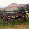 Ghost Ranch Wagon by Sandra McClure
