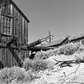 Ghost Town Of Bodie California Dsc4441bw by Wingsdomain Art and Photography