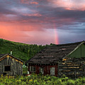 Ghost Town Sunset 4 by Dave Dilli