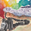 Ghost Train by Jennie Hallbrown