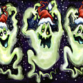 Ghostly Christmas Trio by Kevin Middleton