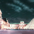 Ghosts Of The Louvre Museum 2  Art by Alex Art and Photo