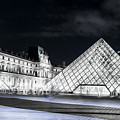 Ghosts Of The Louvre Museum  Art by Alex Art and Photo