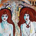 Ghosts On The Brooklyn Bridge by Sandy DeLuca