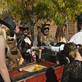 Ghoulish Racers At Emma Crawford Coffin Races In Manitou Springs Colorado by Steve Krull