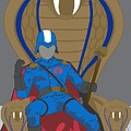 Gi Joe - Cobra Commander by Troy Arthur Graphics