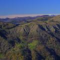 Giacopiane Lake And Aveto Park Mountains  by Enrico Pelos