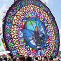 Giant Kite Mayan Women by Nettie Pena