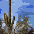 Giant Saguaro by Kelley King