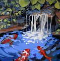 Gibb's Garden Stream by Martha Tisdale