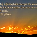 Gibran On The Character Of The Soul by John Malone