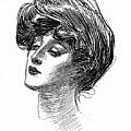 Gibson Girl 1902 by Charles Dana Gibson