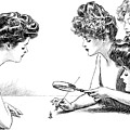 Gibson Girls 1904 by Science Source