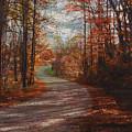 Gibson Ridge Road by Bob Senesac
