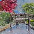 Giethoorn Bridges by Gary Kirkpatrick