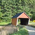 Gifford Covered Bridge  by Wanda-Lynn Searles
