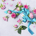 Gift And Flowers by Anastasy Yarmolovich