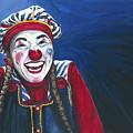 Giggles The Clown by Patty Vicknair