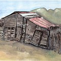 Gila New Mexico Cattle Barn by Margaret Fortunato
