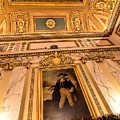 Gilded Ceiling by Melissa Hicks