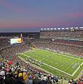 Gillette Stadium And New England Patriots by Juergen Roth