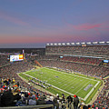 Gillette Stadium In Foxboro  by Juergen Roth