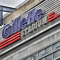 Gillette Stadium Sign by Mike Martin
