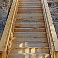 Gilpin County Museum Stairs by Robert Meyers-Lussier
