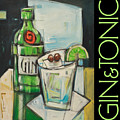 Gin And Tonic Poster by Tim Nyberg