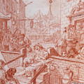 Gin Street by William Hogarth