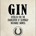 Gin The Eradication Of Sadness by Mark Rogan