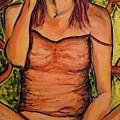 Gina The Smoking Woman by Ericka Herazo