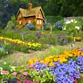 Ginger Cottage by David Zimmerman