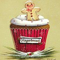 Gingerbread Cookie Cupcake by Catherine Holman