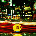 Ginza Tokyo Night by Brad Rickerby