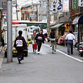 Gion District Street Scene Kyoto Japan by Thomas Marchessault