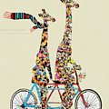 Giraffe Days Lets Tandem by Bri Buckley