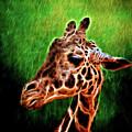 Giraffe Fractal by Judy Vincent